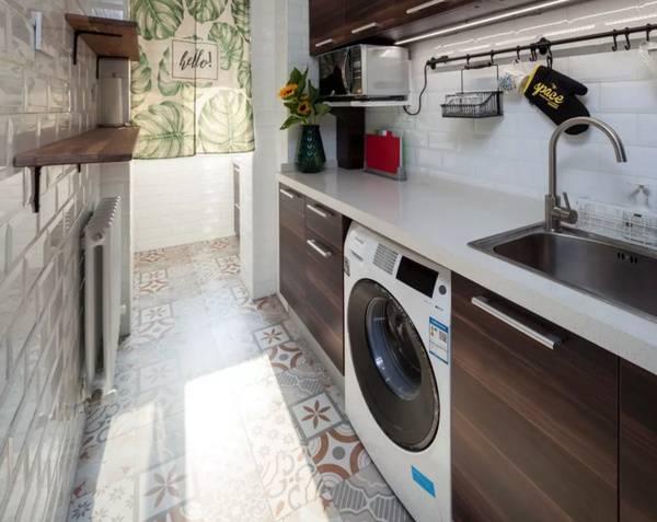 厨房洗衣机效果图
